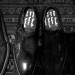 【ENZO BONAFE × HIROSHI TSUBOUCHI × ZODIAC // エンツォボナフェ × ヒロシツボウチ × ゾディアック】 ART.EB-02 Double Monk Strap Shoes Bonaudo Museum Calf Leather ボナウド社 ミュージアムカーフ Norwegian Welted Process ノルベジェーゼ製法 ダブルモンクストラップシューズ PEWTER (ピューター) made in italy (イタリア製) 2017 秋冬新作 【Special Model】