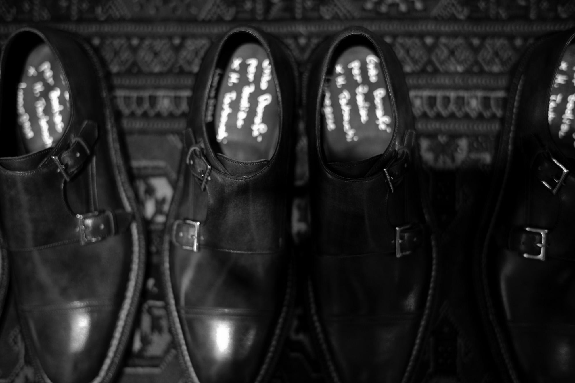 【ENZO BONAFE × HIROSHI TSUBOUCHI × Alto e Diritto // エンツォボナフェ × ヒロシツボウチ × アルト エ デリット】 ART.EB-02 Double Monk Strap Shoes Bonaudo Museum Calf Leather ボナウド社 ミュージアムカーフ Norwegian Welted Process ノルベジェーゼ製法 ダブルモンクストラップシューズ PEWTER (ピューター) made in italy (イタリア製) 2017 秋冬新作 【Special Model】 enzobonafe hiroshitsubouchi エンツォボナフェ 愛知 名古屋 Alto e Diritto アルト エ デリット ダブルモンク