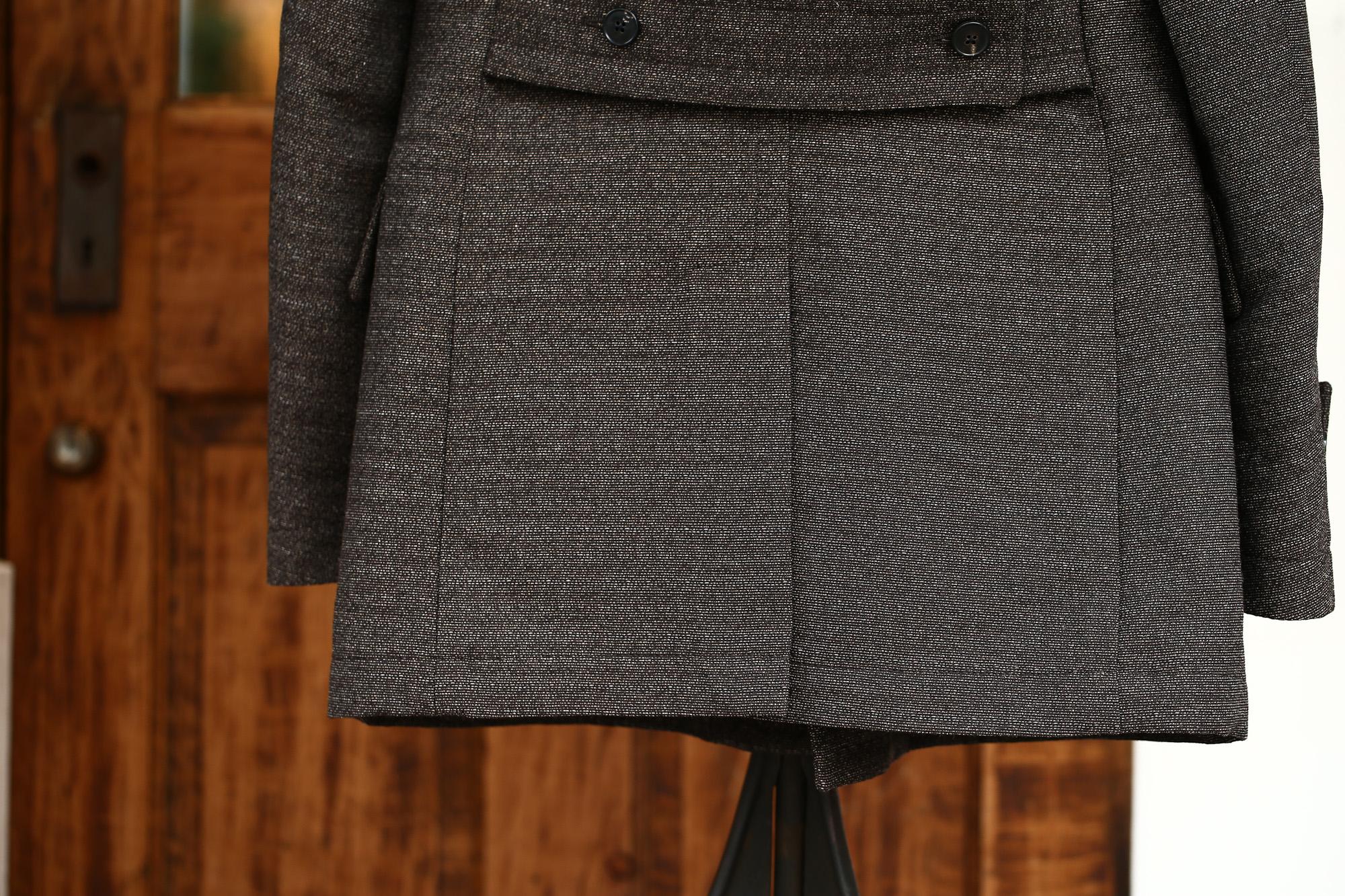 GABRIELE PASINI (ガブリエレ パジーニ) Pea coat (ピーコート) ウール ミドル丈 ダブル コート BROWN (ブラウン・438) Made in italy (イタリア製) 2017 秋冬新作 gabrielepasini カブリエレパジーニ Pコート 愛知 名古屋 ZODIAC ゾディアック