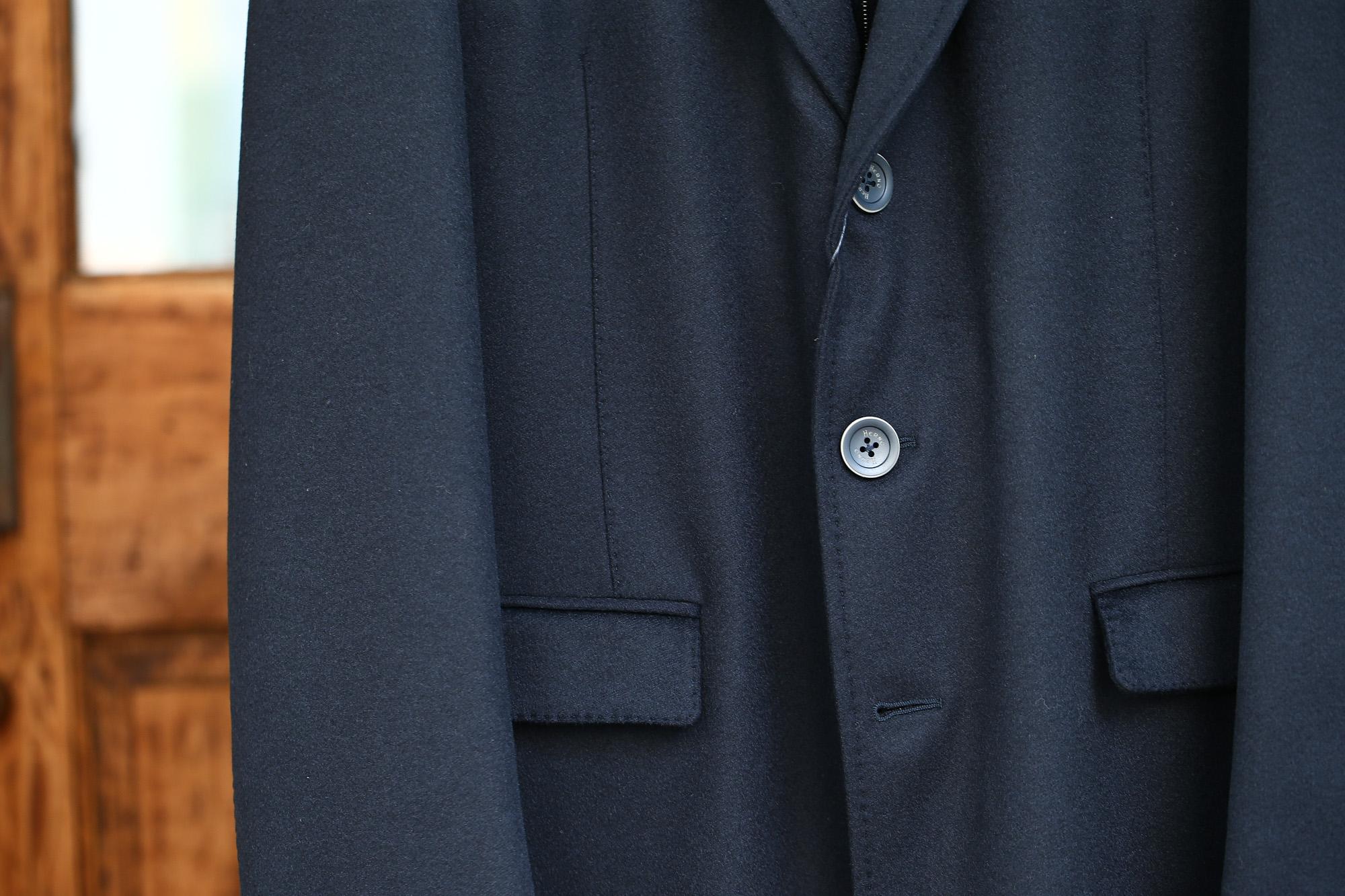 HERNO(ヘルノ) CA0058U Cashmere Chester coat カシミア チェスターコート PIACENZA ピアツェンツァ CASHMERE DROPGLIDE NYLON ULTRALIGHT 中綿入り カシミア チェスターコート NAVY (ネイビー・9200) Made in italy (イタリア製) 2017 秋冬新作 愛知 名古屋 ZODIAC ゾディアック herno ヘルノ ダウンコート ビジネススタイル