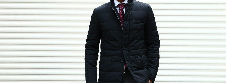 【HERNO // ヘルノ】 PI006UL LAMINAR Down Jacket ラミナー ダウンジャケット GORE-TEX ゴアテックス GORE WINDSTOPPER ゴアウィンドストッパー ダウンジャケット BLACK (ブラック・9300) Made in italy (イタリア製) 2017 秋冬新作のイメージ