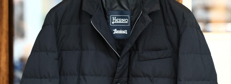 HERNO(ヘルノ) PI006UL LAMINAR Down Jacket ラミナー ダウンジャケット GORE-TEX ゴアテックス GORE WINDSTOPPER ゴアウィンドストッパー ダウンジャケット BLACK (ブラック・9300) Made in italy (イタリア製) 2017 秋冬新作のイメージ