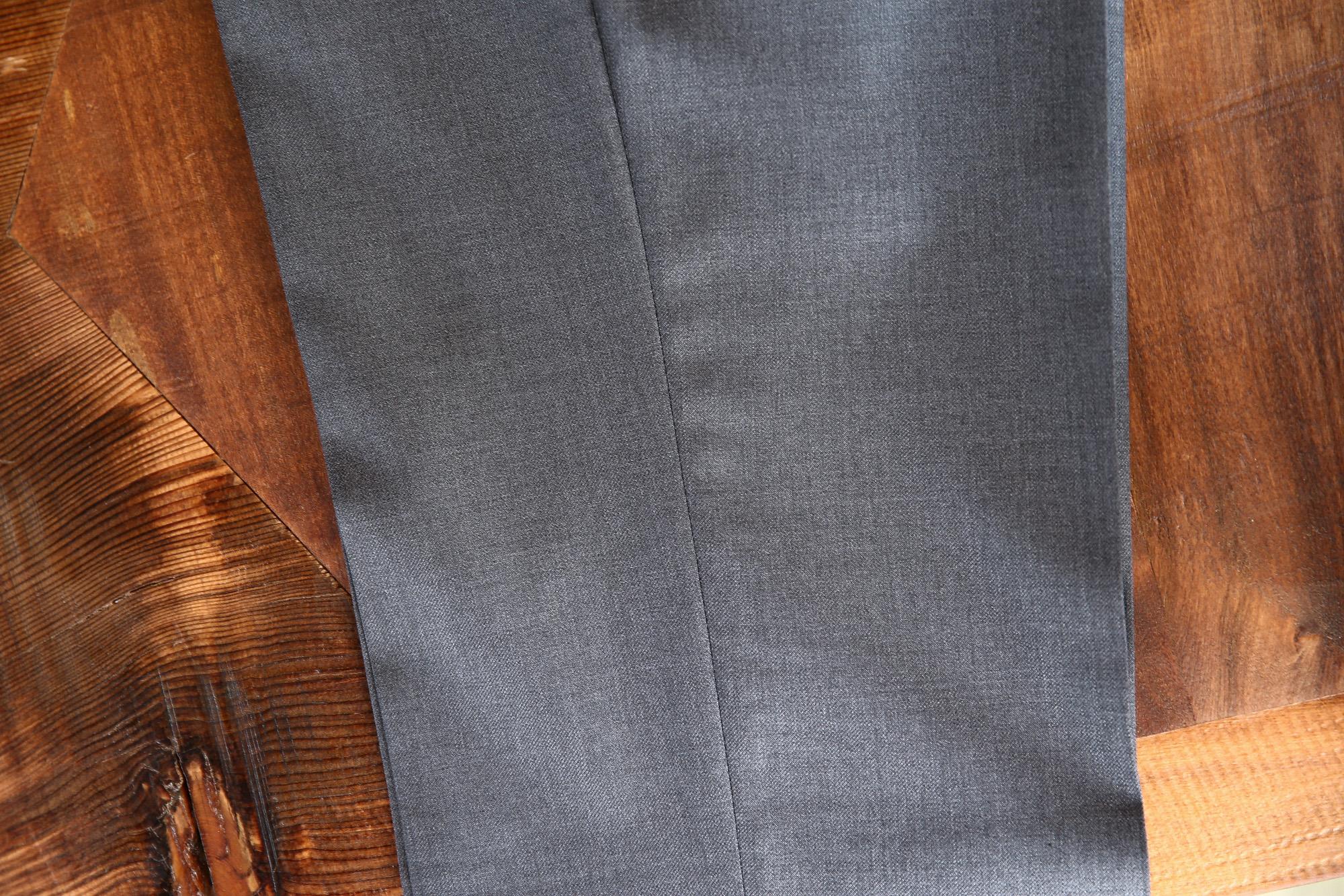 INCOTEX (インコテックス) 1NT035 SLIM FIT スリムフィット SUPER 100'S WOOLLEN TWILL サージウール スラックス MEDIUM GRAY (ミディアムグレー・920) 2017 秋冬新作 incotex インコテックス スラックス 愛知 名古屋 Alto e Diritto アルト エ デリット グレスラ