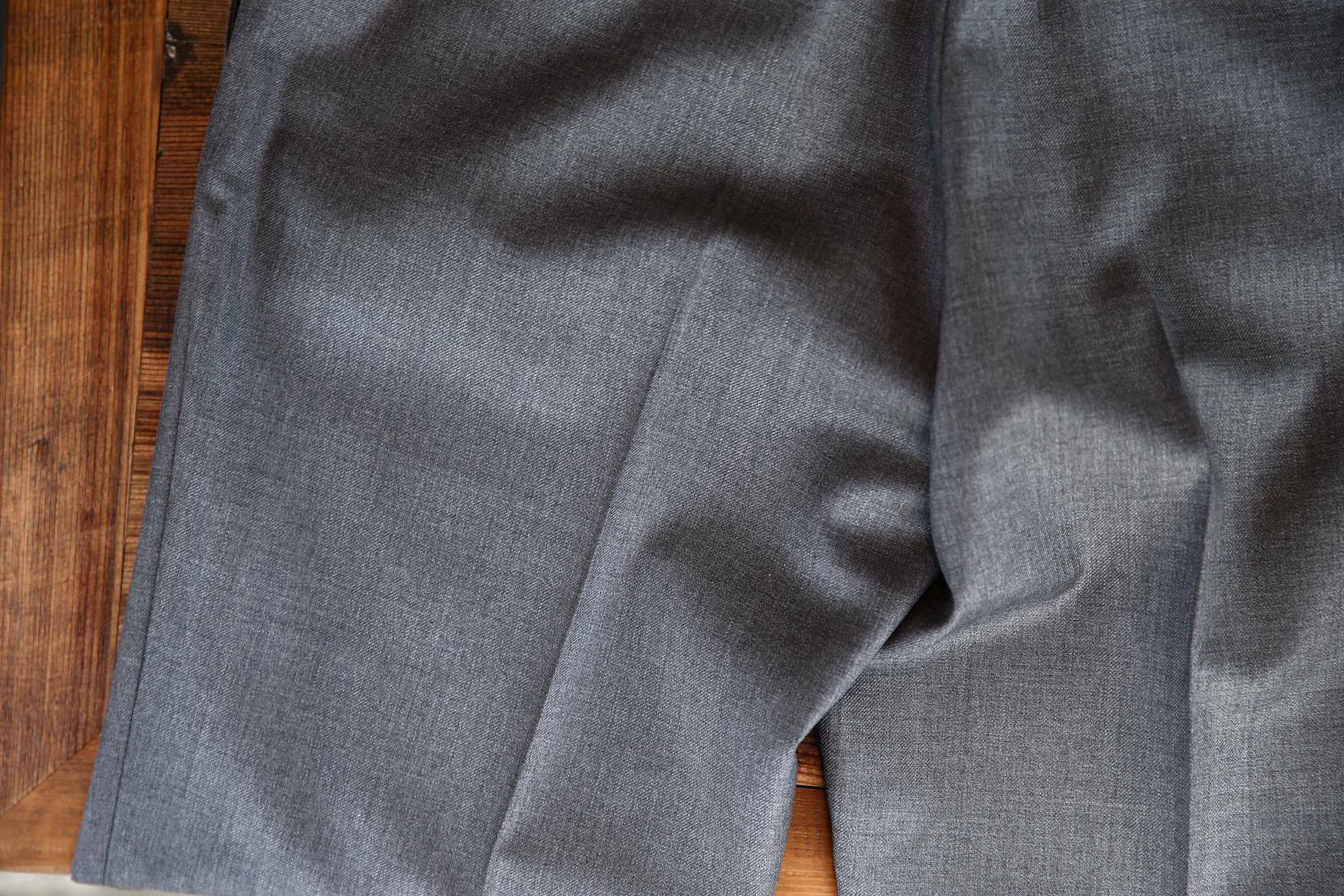 INCOTEX (インコテックス) 1NT035 SLIM FIT SUPER 100'S WOOLLEN TWILL サージウール スラックス GRAY (グレー・912) 2017 秋冬新作 incotex インコテックス スラックス 愛知 名古屋 ZODIAC ゾディアック グレスラ