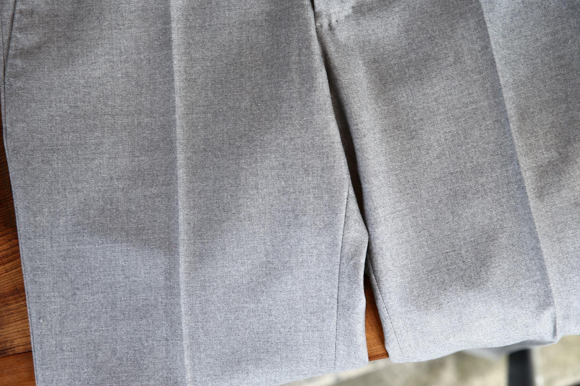 INCOTEX (インコテックス) N35 SLIM FIT (1NT035) S120'S HIGH COMFORT FLANNEL ストレッチ フランネル ウール スラックス GRAY (グレー・900) 2017 秋冬新作 incotex インコテックス スラックス 愛知 名古屋 Alto e Diritto アルト エ デリット グレスラ