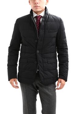 【HERNO / ヘルノ】 PI006UL LAMINAR Down Jacket ラミナー ダウンジャケット GORE-TEX ゴアテックス GORE WINDSTOPPER ゴアウィンドストッパー ダウンジャケット BLACK (ブラック・9300) Made in italy (イタリア製) 2017 秋冬新作