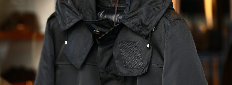 Sealup (シーラップ) M51 Mods coat (M51 モッズコート) サーモアライニング ダウンライナー付き モッズコート BLACK (ブラック・36) Made in italy (イタリア製) 2017 秋冬新作のイメージ