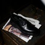 WH(ダブルエイチ) WH-0001(WHS-0001)  【干場スペシャル】 ANNONAY Vocalou Calf Leather アノネイ ボカルーカーフ Vibram Tank Sole ビブラム タンクソール プレーントゥ シューズ BLACK(ブラック) , DARK BROWN(ダークブラウン) MADE IN JAPAN(日本製) 2018 春夏 【人気爆発!ご予約受付中!】【期間2017年12月25日(月)~2018年1月21日(日)まで】のイメージ