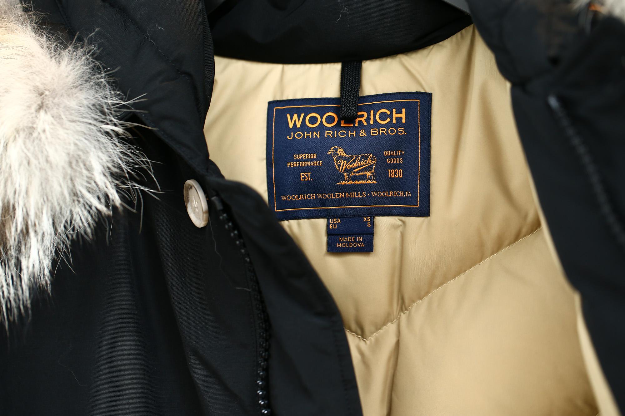 WOOLRICH (ウールリッチ) ARCTIC PARKA ML (アークティックパーカ ML) 60/40クロス ダウンコート ダウンジャケット NEW BLACK (ニューブラック・NBL) 2017 秋冬新作 woolrich zodiac 名古屋 愛知 ダウン arcticparka