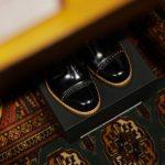 Cuervo (クエルボ) 【Romeo // ロメオ】 CORDOVAN コードバン Double Leather Sole セミドレスブーツ レザーブーツ ドレスシューズ BLACK(ブラック) MADE IN JAPAN(日本製) 2017 秋冬新作のイメージ