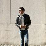 【EMMETI /エンメティ】 【JURI / ユリ】 Lambskin nappa シングルライダース レザージャケット NERO (ブラック) , MARRONE(ブラウン) made in italy (イタリア製) 2018 春夏 【第2便 ご予約受付中!】のイメージ