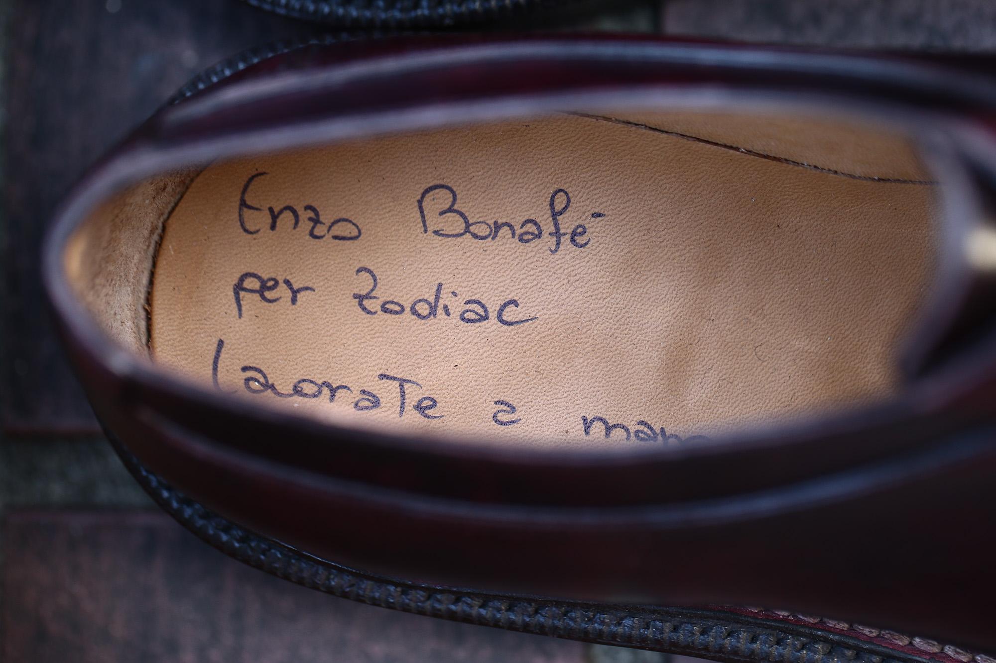 ENZO BONAFE(エンツォボナフェ) 【BERING /// ベーリング】 Bonaudo Museum Calf Leather(ボナウド社ミュージアムカーフレザー) ノルベジェーゼ製法 Uチップシューズ レザーシューズ PLUM(バーガンディー) made in italy(イタリア製) 2017 秋冬新作 愛知 名古屋 ZODIAC ゾディアック エンツォボナフェ 5.5,6,6.5,7,7.5,8,8.5,9,9.5