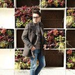【GABRIELE PASINI / ガブリエレ パジーニ】 Pea coat (ピーコート) ウール ミドル丈 ダブル コート BROWN (ブラウン・438) Made in italy (イタリア製) 2017 秋冬新作のイメージ