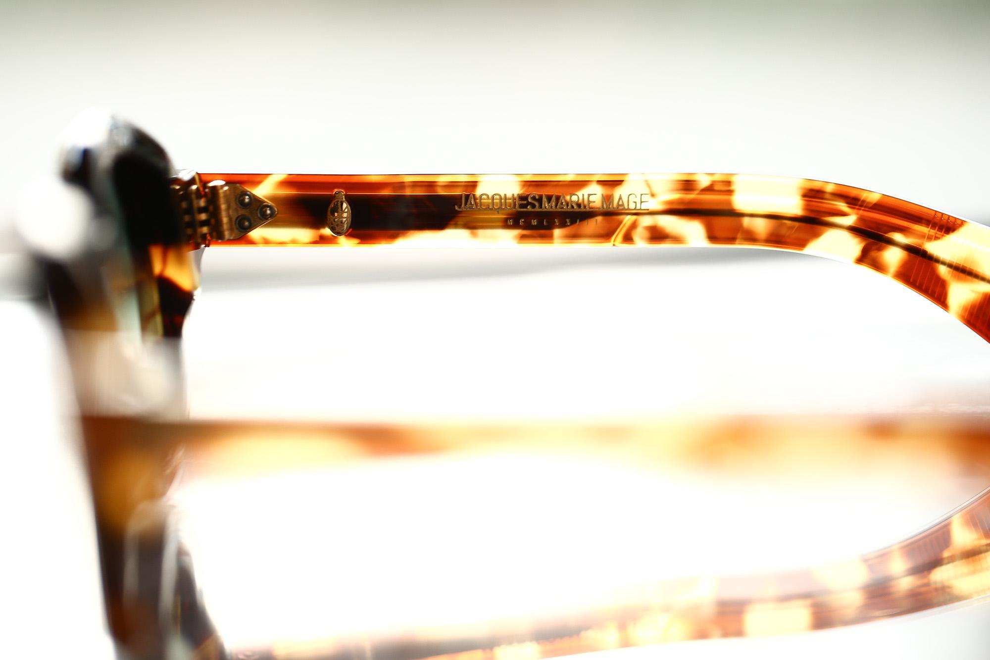 JACQUESMARIEMAGE(ジャックマリーマージュ) 【STENDHAL / スタンダール】 18K GOLD 18k ゴールドパーツ ラウンド型 アイウェア サングラス CUBA(キューバ) HANDCRAFTED IN JAPAN(日本製) 2017 秋冬 【Re Arrival / 再入荷】 jacquesmariemage 愛知 名古屋 ZODIAC ゾディアック
