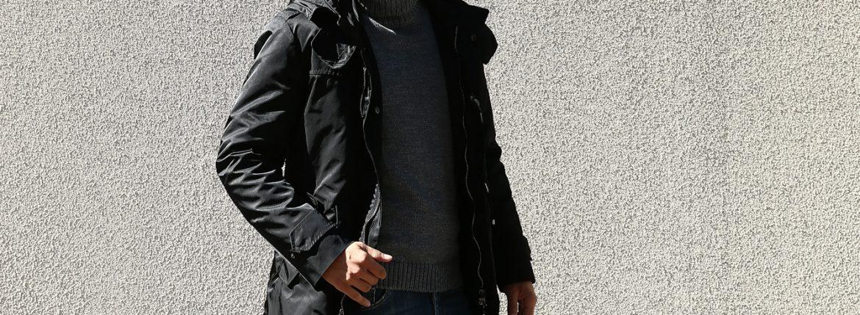 【Sealup // シーラップ】 M51 Mods coat (M51 モッズコート) サーモアライニング ダウンライナー付き モッズコート BLACK (ブラック・36) Made in italy (イタリア製) 2017 秋冬新作のイメージ