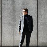 【BOGLIOLI MILANO // ボリオリ ミラノ】 SFORZA (スフォルツァ) サキソニーウール生地 メランジ 2B スーツ CHARCOAL (チャコール・79) Made in italy (イタリア製) 2017 秋冬新作のイメージ