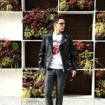 【CINQUANTA /// チンクアンタ】 6633 W RIDERS CAVALLO (ダブルライダース ジャケット) HORSE LEATHER ホースレザー ライダース ジャケット BLACK (ブラック・999) Made in italy (イタリア製) 2017 秋冬新作のイメージ
