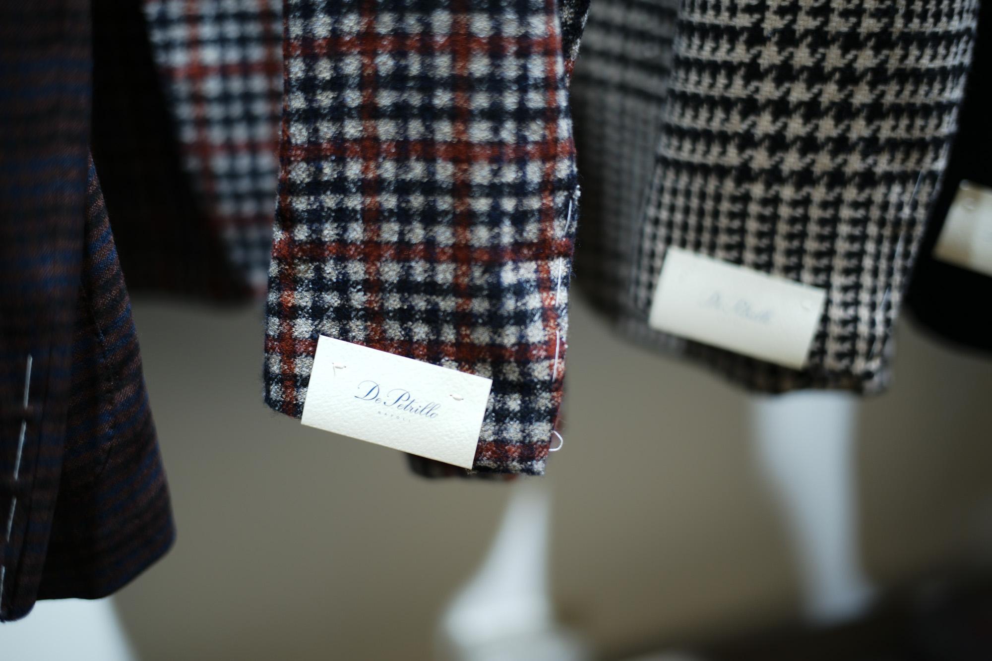 De Petrillo / デ・ペトリロ (2018 秋冬 プレ 展示会) ジャケット ダブル コート スーツ 名古屋 Alto e Diritto アルト エ デリット コーディネート