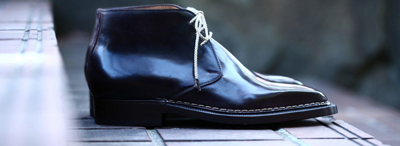 【ENZO BONAFE // エンツォボナフェ】 ART.3722 Chukka boots チャッカブーツ Horween Shell Cordovan Leather ホーウィン社 シェルコードバンレザー ノルベジェーゼ製法 チャッカブーツ コードバンブーツ No.8(バーガンディー) made in italy (イタリア製) 2017 秋冬新作 愛知 名古屋 ZODIAC ゾディアック エンツォボナフェ コードバン チャッカ 5.5,6,6.5,7,7.5,8,8.5,9,9.5
