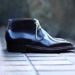 【ENZO BONAFE // エンツォボナフェ】 ART.3722 Chukka boots チャッカブーツ Horween Shell Cordovan Leather ホーウィン社 シェルコードバンレザー ノルベジェーゼ製法 チャッカブーツ コードバンブーツ No.8(バーガンディー)  made in italy (イタリア製) 2017 秋冬新作のイメージ