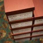 ENZO BONAFE (エンツォボナフェ) ART.3722 Chukka boots チャッカブーツ Horween Shell Cordovan Leather ホーウィン社 シェルコードバンレザー ノルベジェーゼ製法 チャッカブーツ コードバンブーツ No.8(バーガンディー)  made in italy (イタリア製) 2017 秋冬新作のイメージ