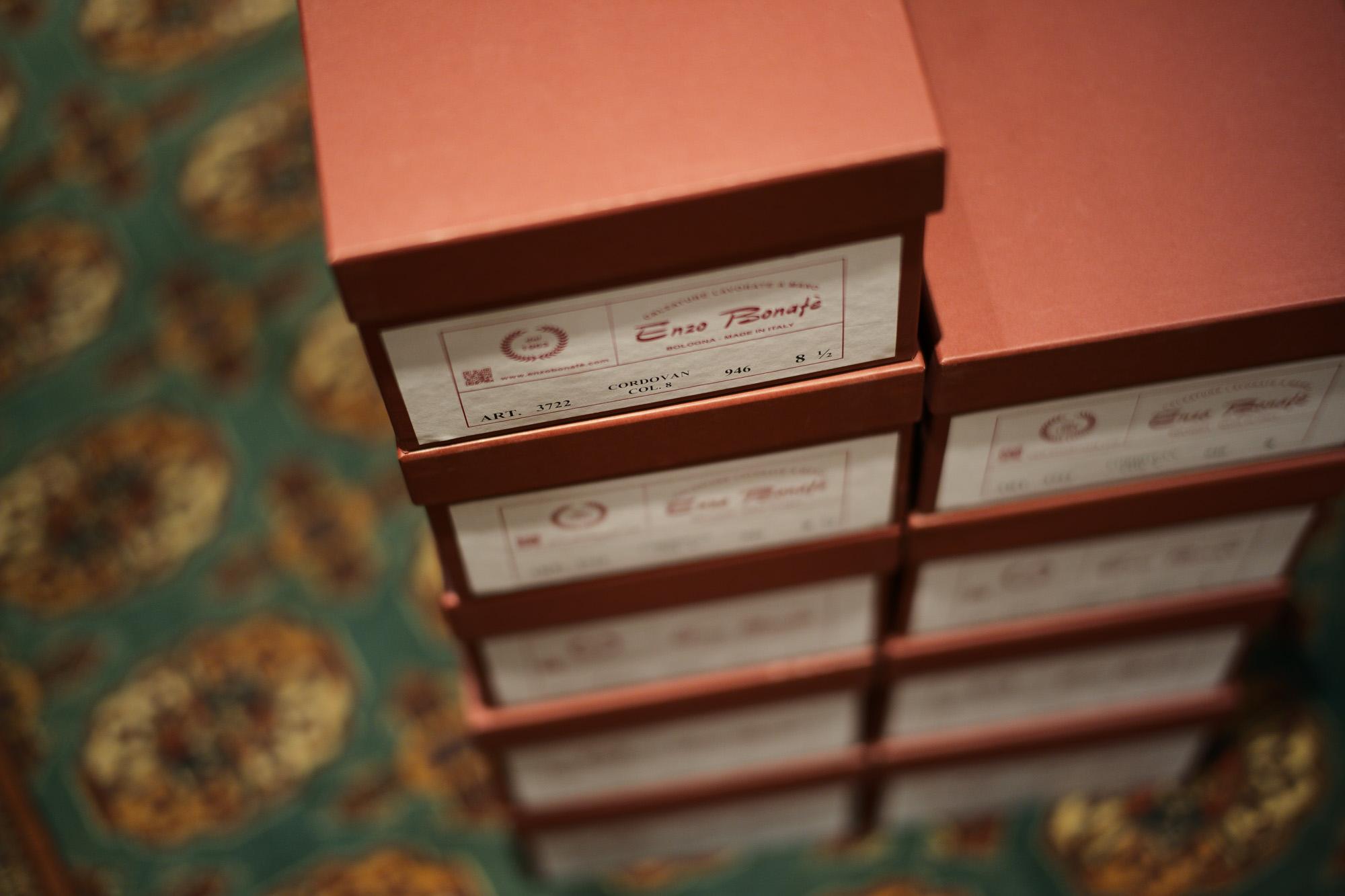 ENZO BONAFE (エンツォボナフェ) ART.3722 Chukka boots チャッカブーツ Horween Shell Cordovan Leather ホーウィン社 シェルコードバンレザー ノルベジェーゼ製法 チャッカブーツ コードバンブーツ No.8(バーガンディー)  made in italy (イタリア製) 2017 秋冬新作 愛知 名古屋 Alto e Diritto アルト エ デリット エンツォボナフェ コードバン チャッカ