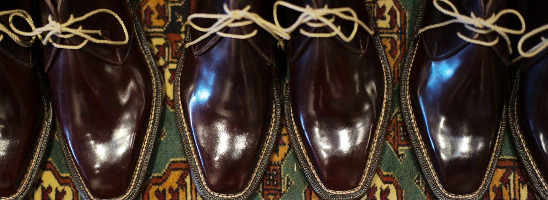 【ENZO BONAFE / エンツォボナフェ】 ART.3722 Chukka boots チャッカブーツ Horween Shell Cordovan Leather ホーウィン社 シェルコードバンレザー ノルベジェーゼ製法 チャッカブーツ コードバンブーツ No.8(バーガンディー) made in italy (イタリア製) 2017 秋冬新作 愛知 名古屋 ZODIAC ゾディアック エンツォボナフェ コードバン チャッカ 5.5,6,6.5,7,7.5,8,8.5,9,9.5