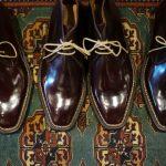 【ENZO BONAFE / エンツォボナフェ】 ART.3722 Chukka boots チャッカブーツ Horween Shell Cordovan Leather ホーウィン社 シェルコードバンレザー ノルベジェーゼ製法 チャッカブーツ コードバンブーツ No.8(バーガンディー)  made in italy (イタリア製) 2017 秋冬新作のイメージ