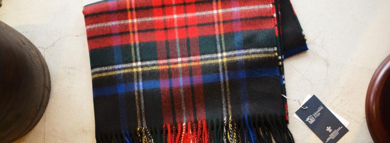 Johnstons (ジョンストンズ) WA56 STOLE Cashmere 100% カシミア 大判 ストール BLACK STEWART (ブラックスチュワート・KU0324) Made in Scotland (スコットランド製) 2017 秋冬新作のイメージ
