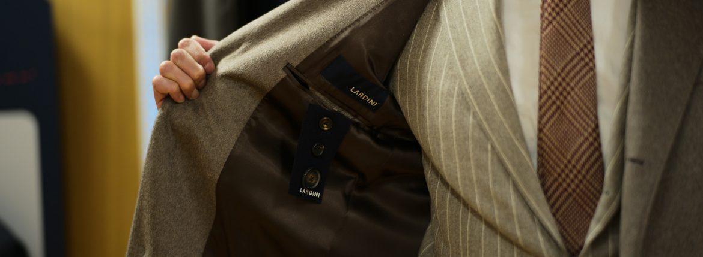 LARDINI (ラルディーニ) Spolverino Chester coat (CASHMERE) カシミヤ スポルベリーノ チェスターコート GRAY (グレー・1)  Made in italy (イタリア製) 2018 秋冬のイメージ
