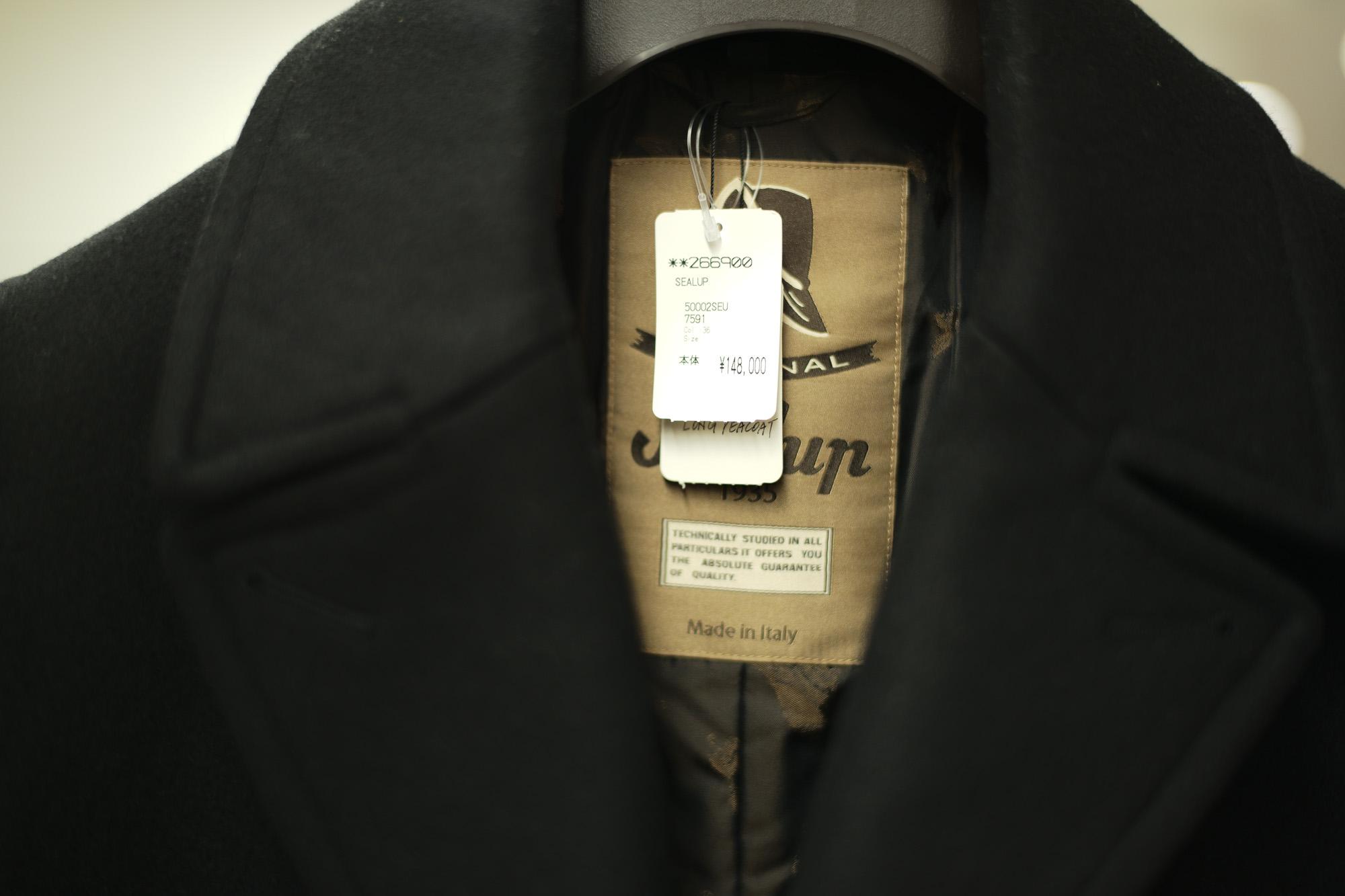 Sealup / シーラップ (2018 秋冬 プレ 展示会) Bomber Jacket ボンバージャケット GENOVA ジェノバ Pコート コート ナイロンジャケット 5000LSEU 7591 7617 2434SEU 7612 40916 96048 ネイビー ブラック