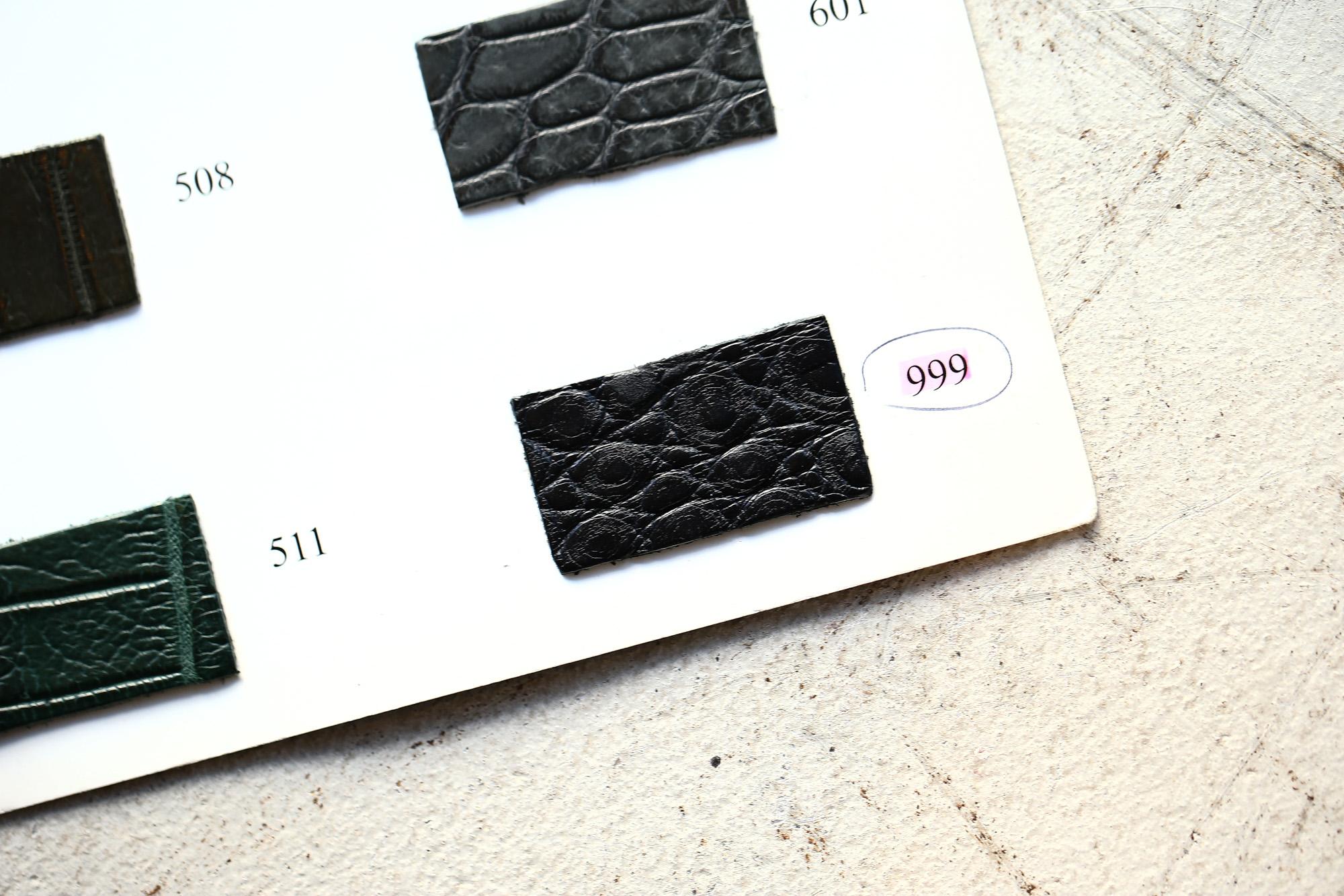 ENZO BONAFE(エンツォボナフェ) ART.3713 Coin Loafer コインローファー Crocodile クロコダイル エキゾチックレザーシューズ BLACK・999(ブラック・999) made in italy(イタリア製) 2018秋冬 enozobonafe クロコ クロコローファー 愛知 名古屋 ZODIAC ゾディアック