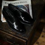 【ENZO BONAFE / エンツォボナフェ】 【3720】Plane Toe Dress Shoes プレーントゥー Horween Shell Cordovan leather ホーウィンシェル コードバンレザー コードヴァンドレスシューズ NERO(ブラック) made in italy (イタリア製)のイメージ