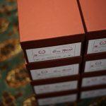 ENZO BONAFE (エンツォボナフェ) ART.3922 Balmoral boots BONAUDO MUSEUM CALF LEATHER ボナウド社ミュージアムカーフレザー バルモラルブーツ PEWTER × NERO (ピューター × ブラック) 2018 春夏新作のイメージ