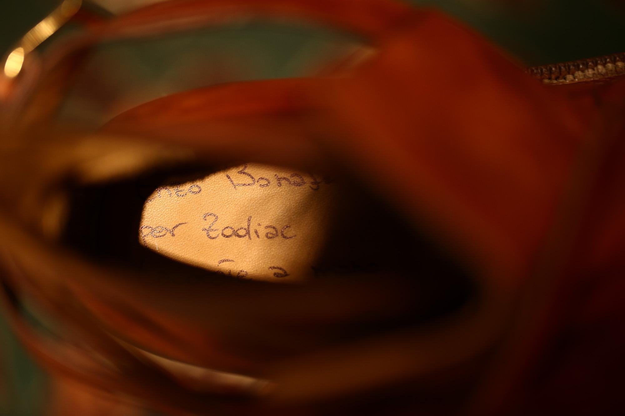 ENZO BONAFE (エンツォボナフェ) 【ART.EB-13】 Jodhpur boots BONAUDO MUSEUM CALF LEATHER ボナウド社ミュージアムカーフレザー ジョッパーブーツ NEW GOLD (ニューゴールド) made in italy (イタリア製) 2018 春夏 enozbonafe eb13 ジョッパーブーツ ブーツ 愛知 名古屋 ZODIAC ゾディアック