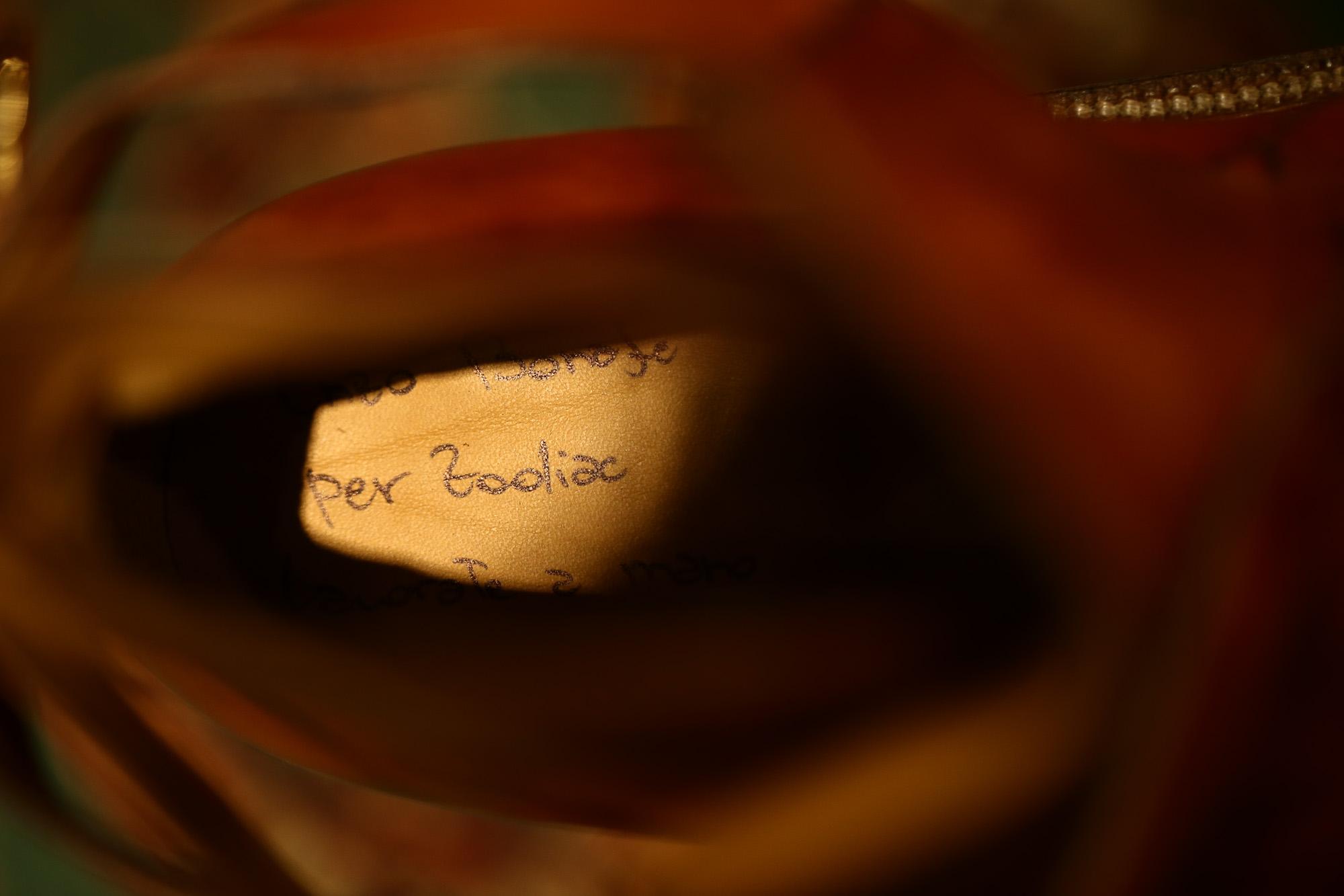 ENZO BONAFE (エンツォボナフェ) 【ART.EB-13】 Jodhpur boots BONAUDO MUSEUM CALF LEATHER ボナウド社ミュージアムカーフレザー ジョッパーブーツ NEW GOLD (ニューゴールド) made in italy (イタリア製) 2018 春夏 enozbonafe eb13 ジョッパーブーツ ブーツ 愛知 名古屋 Alto e Diritto アルト エ デリット
