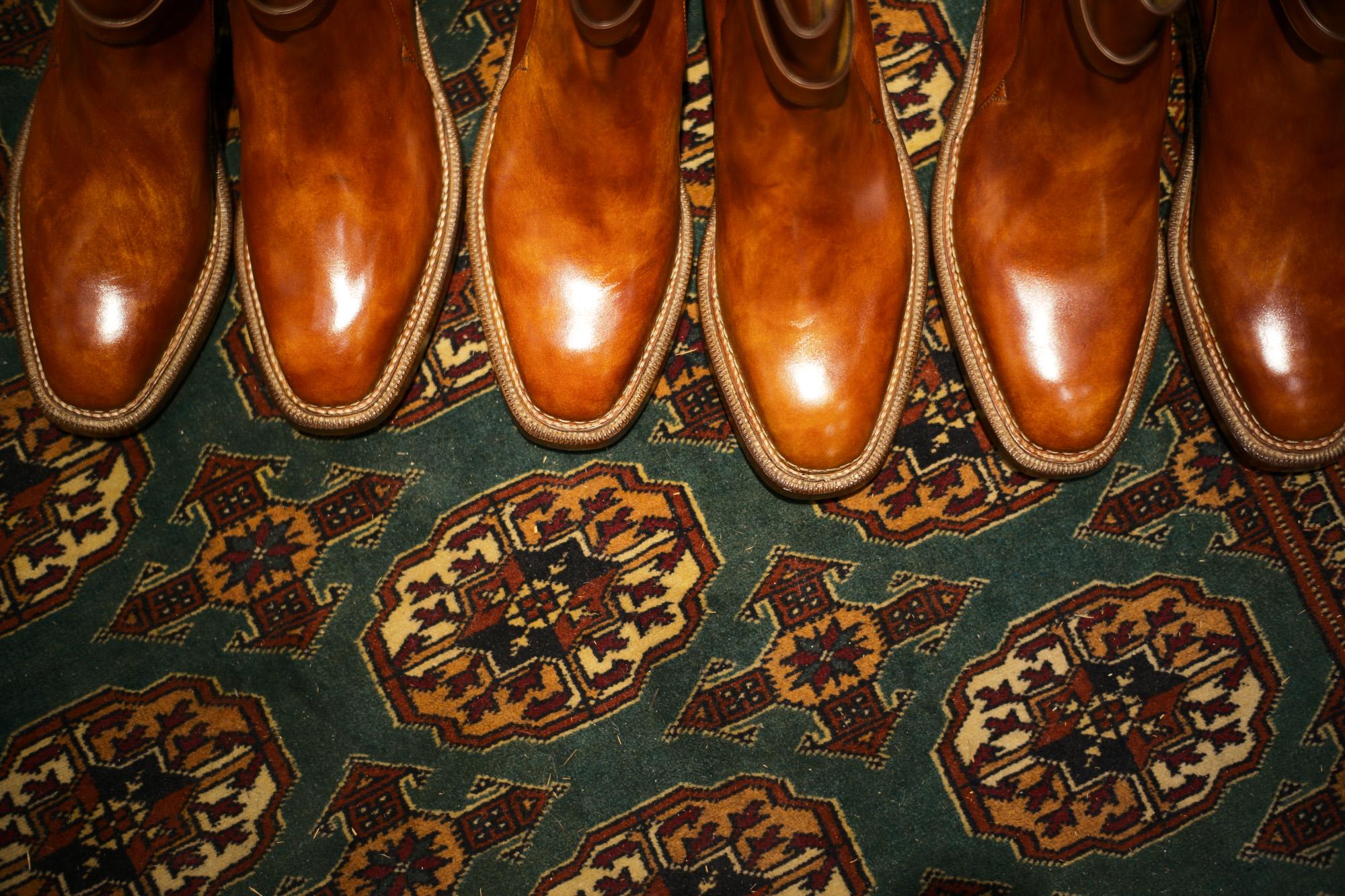 ENZO BONAFE (エンツォボナフェ) 【ART.EB-13】 Jodhpur boots BONAUDO MUSEUM CALF LEATHER ボナウド社ミュージアムカーフレザー ジョッパーブーツ NEW GOLD (ニューゴールド) made in italy (イタリア製) 2018 春夏新作 enozbonafe eb13 ジョッパーブーツ ブーツ 愛知 名古屋 ZODIAC ゾディアック