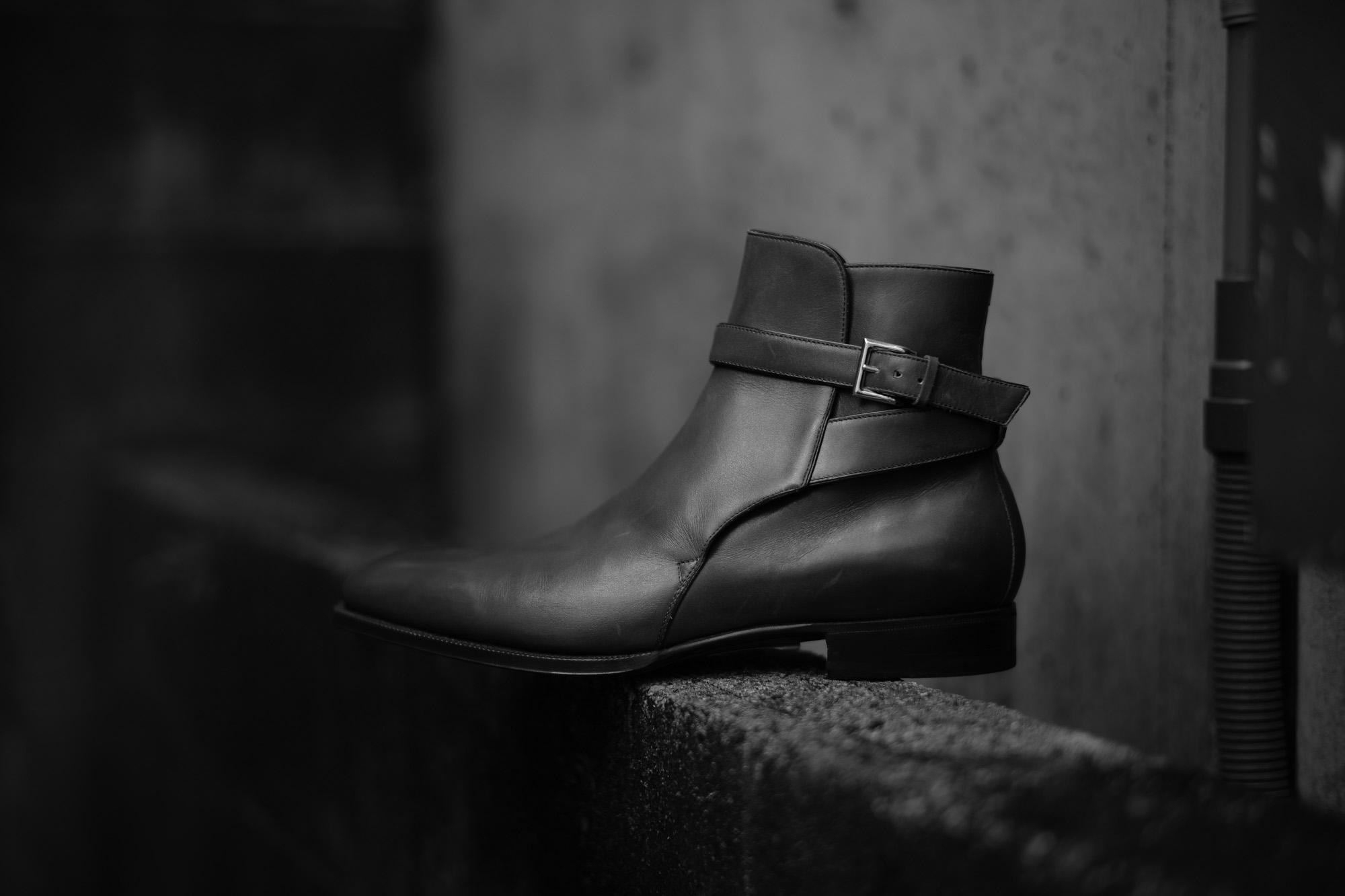 ENZO BONAFE(エンツォボナフェ) 【EB-13】 Jodhpur Boots ジョッパーブーツ Bonaudo Museum Calf Leather ボナウド社ミュージアムカーフレザー ノルベジェーゼ製法 レザーブーツ NEW GOLD(ニューゴールド) made in italy(イタリア製) 2018春夏 enzobonafe ジョッパー 愛知 名古屋 ZODIAC ゾディアック