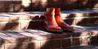 ENZO BONAFE (エンツォボナフェ) ART.EB-13 【Jodhpur boots】 BONAUDO MUSEUM CALF LEATHER ボナウド社ミュージアムカーフレザー ジョッパーブーツ NEW GOLD (ニューゴールド) made in italy (イタリア製) 2018 春夏新作 enozbonafe eb13 ジョッパーブーツ ブーツ 愛知 名古屋 ZODIAC ゾディアック
