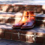 ENZO BONAFE (エンツォボナフェ) ART.EB-13 【Jodhpur boots】 BONAUDO MUSEUM CALF LEATHER ボナウド社ミュージアムカーフレザー ジョッパーブーツ NEW GOLD (ニューゴールド) made in italy (イタリア製) 2018 春夏新作のイメージ