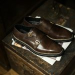 ENZO BONAFE × HIROSHI TSUBOUCHI × Alto e Diritto(エンツォボナフェ × ヒロシツボウチ × アルト エ デリット) 【ART.EB-02】 Double Monk Strap Shoes Bonaudo Museum Calf Leather ボナウド社 ミュージアムカーフ Norwegian Welted Process ノルベジェーゼ製法 ダブルモンクストラップシューズ PEWTER (ピューター) made in italy (イタリア製) 【Special Model】のイメージ