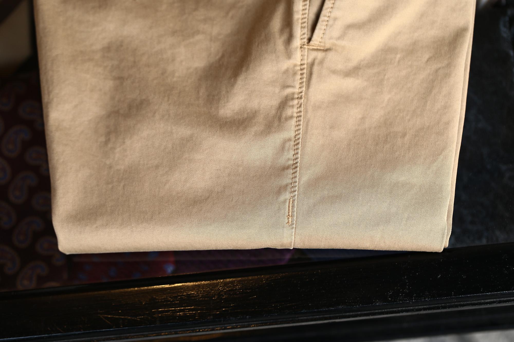 INCOTEX SLACKS(インコテックススラックス) 1ST603 SLIM FIT G.D. STRETCH GABCHINO チノパンツ BEIGE (ベージュ・512) 2018 春夏新作 incotex incotexslacks インコテックス チノ 愛知 名古屋 Alto e Diritto アルト エ デリット