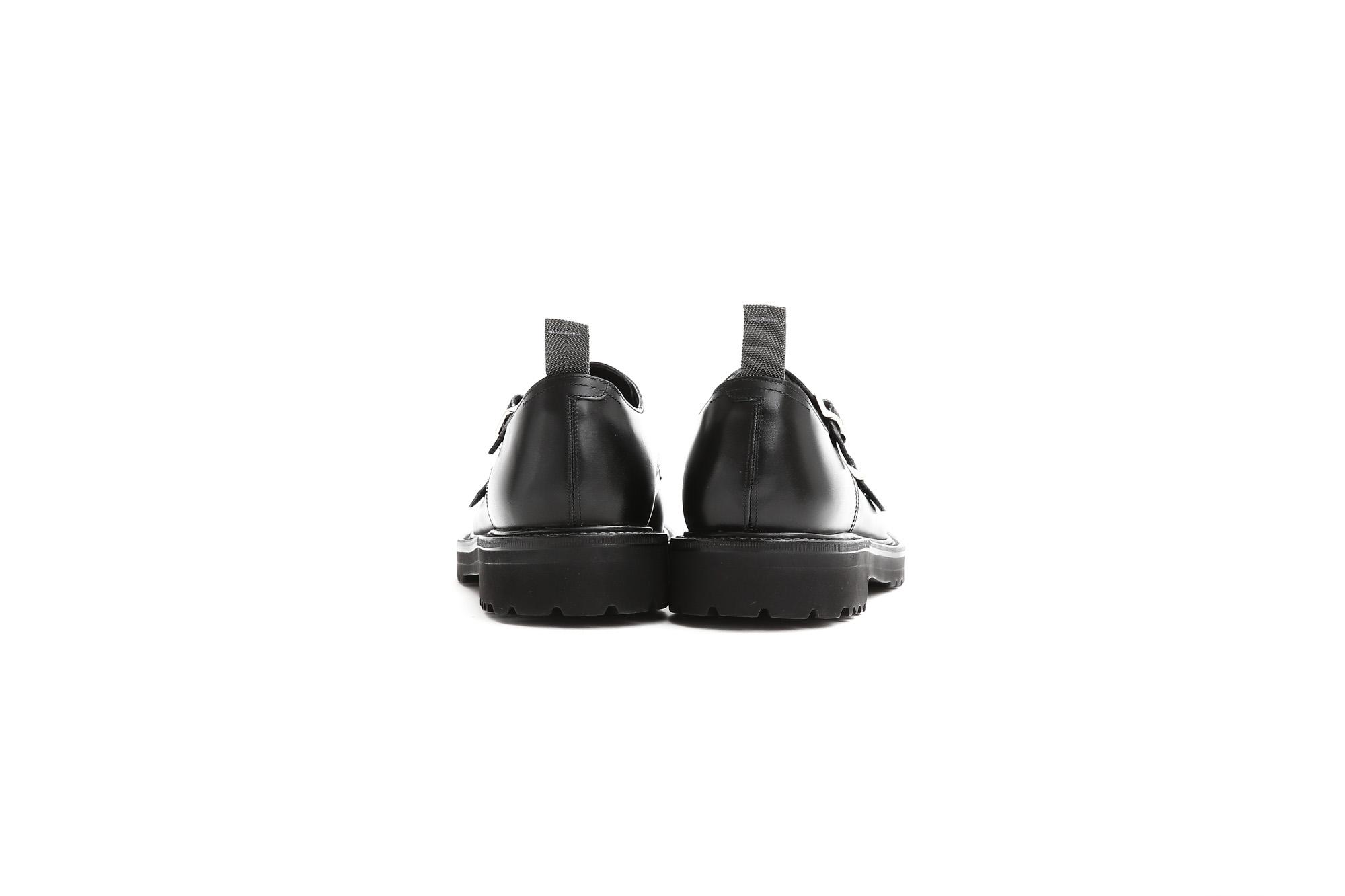 WH (ダブルエイチ) 【WH-0300(WHS-0300)】 Double Monk Strap Shoes (干場氏 スペシャル モデル) Cruise Last (クルーズラスト) ダブルモンクストラップシューズ BLACK (ブラック) MADE IN JAPAN (日本製) 2018 春夏新作 【干場氏、坪内氏の直筆サイン入り】【ZODIAC限定 スペシャルアイテム】 wh 干場さん 干場スペシャル FORZASTYLE フォルザスタイル 愛知 名古屋 ZODIAC ゾディアック