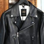 CINQUANTA (チンクアンタ) H508 W RIDERS SL CAVALLO (ダブルライダース ジャケット SL) ホースレザー ライダース ジャケット BLACK (ブラック・999) Made in italy (イタリア製) 2018 春夏新作のイメージ