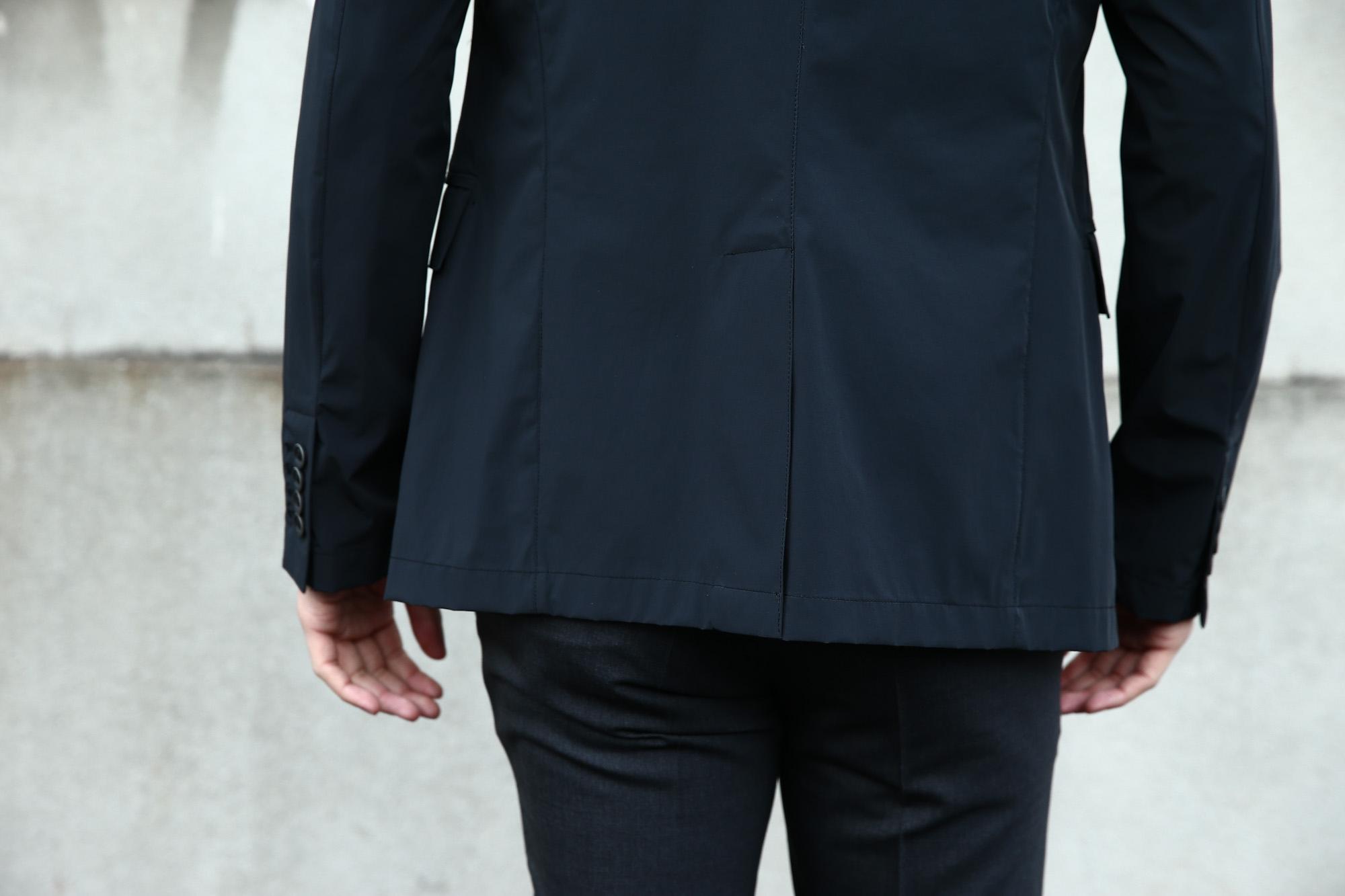 【HERNO / ヘルノ】 GA0069U Stretch Nylon Jacket (ストレッチ ナイロン ジャケット) 撥水ナイロン 2Bジャケット BLACK (ブラック・9300) Made in italy (イタリア製) 2018 春夏新作  愛知 名古屋 Alto e Diritto アルト エ デリット 42,44,46,48,50,52,54