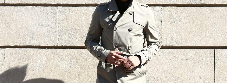 HERNO (ヘルノ) IM0127U Rain Collection Trench coat (レインコレクション トレンチコート) 撥水 ダブルブレスト トレンチコート BEIGE (ベージュ・2750) Made in italy (イタリア製) 2018 春夏新作のイメージ