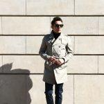 HERNO (ヘルノ) IM0127U Rain Collection Trench coat (レインコレクション トレンチコート) 撥水 ダブルブレスト トレンチコート BEIGE (ベージュ・2750) Made in italy (イタリア製) 2018 春夏新作