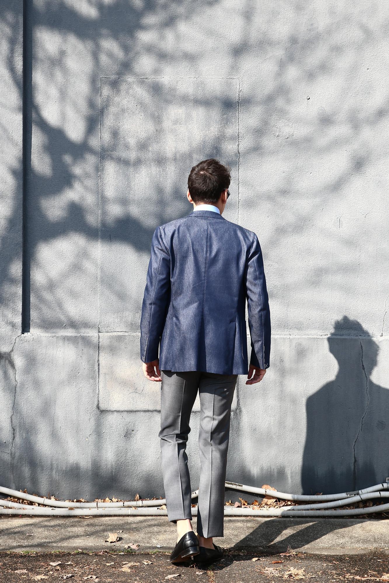 INCOTEX (インコテックス) 1NT035 SLIM FIT SUPER 100'S YARN DYED TROPICAL サマーウール スラックス 【MEDIUM GRAY / ミディアムグレー・910】 2018 春夏新作 incotex インコテックス グレスラ 愛知 名古屋 Alto e Diritto アルト エ デリット