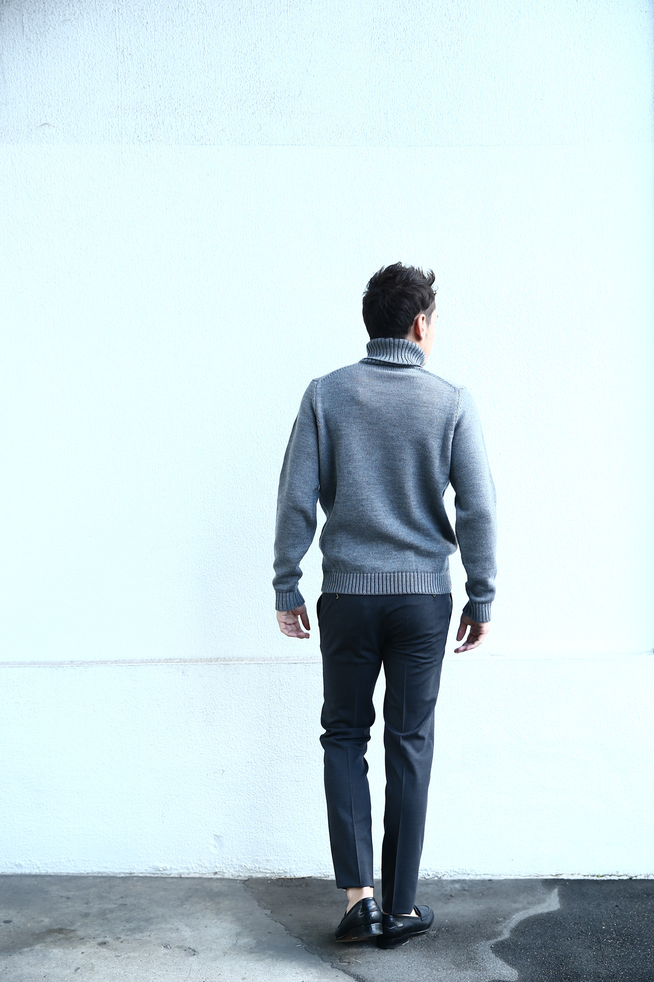 【PT01 / ピーティーゼロウーノ】 BUSINESS SUPER SLIM FIT (スーパースリムフィット) ストレッチ トロピカル サマーウール スラックス CHARCOAL GRAY (チャコールグレー・0255) 2018 春夏新作 pt01 ピーティー 愛知 名古屋 ZODIAC ゾディアック