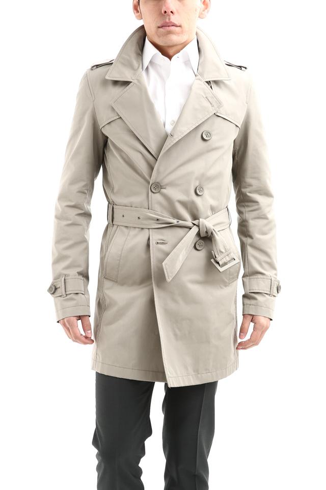 【HERNO / ヘルノ】 IM0127U Rain Collection Trench coat (レインコレクション トレンチコート) 撥水 ダブルブレスト トレンチコート BEIGE (ベージュ・2750) Made in italy (イタリア製) 2018 春夏新作